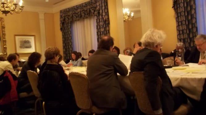 Ziua a doua şi prima întâlnire cu psihanaliştii americani ai Conferinţei