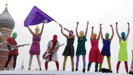 Rugăciunea trupei punk Pussy Riot scoate capetele din vizuini