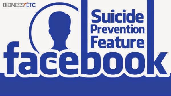 suicid prevenire facebook sinucidere