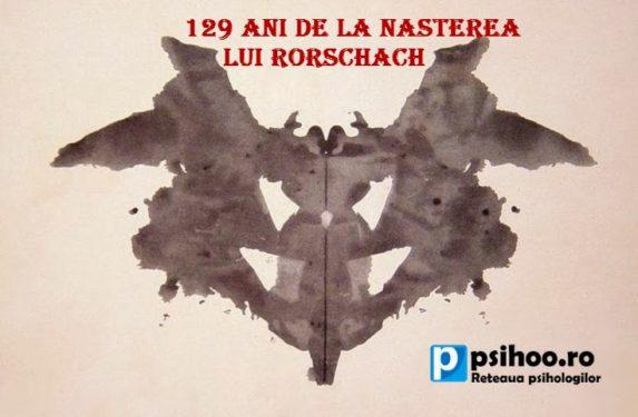 Google celebreaza 129 de ani de la nasterea lui Hermann Rorschach