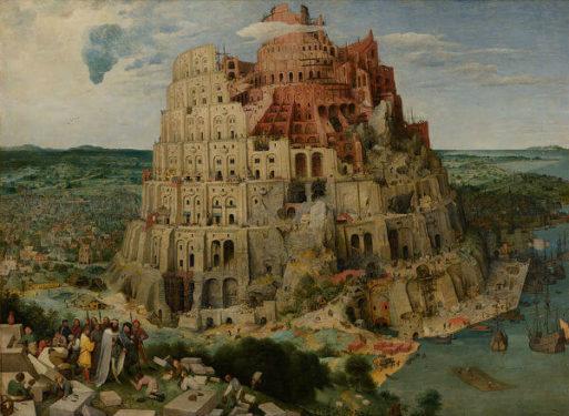turnul babel pieter bruegel cel batran psihanaliza