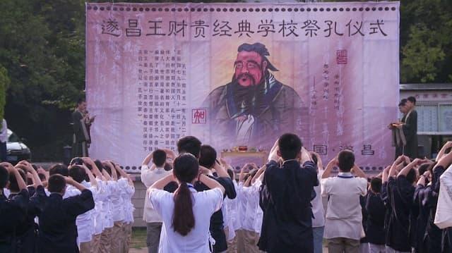 visul confucian li mijie baiatul in tabara de baieti