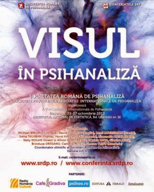In direct la Psihoo si Cafe Gradiva: A 5-a Conferinta Internationala de Psihanaliza, Bucuresti, 25-27 octombrie 2013