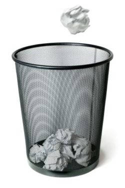 Bothered by Negative, Unwanted Thoughts? Throwing Them Away Doesn't Help