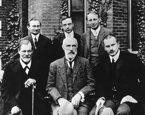 Clark University - Sigmund Freud, G. Stanley Hall, C. G. Jung, Abraham A. Brill, Ernest Jones, Sándor Ferenczi