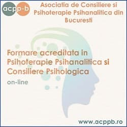 acppb formare psihoterapie psihanalitica